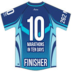 10 Marathons in 10 Days